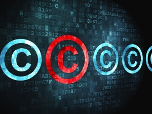 Copyright Sign Software Code background LATML shutterstock_131424326