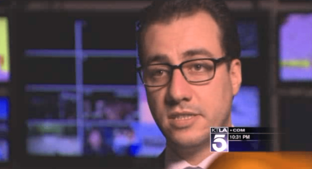 David N. Sharifi interview on KTLA Channel 5 News, Los Angeles, Discussing Legal Issues in Social Media