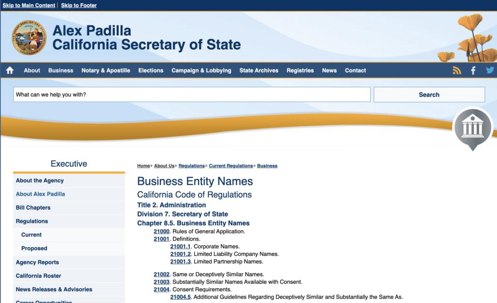 Business Entity Identifier