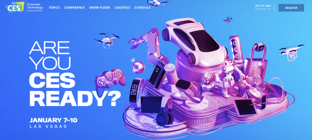 CES 2020 will be in Las Vegas