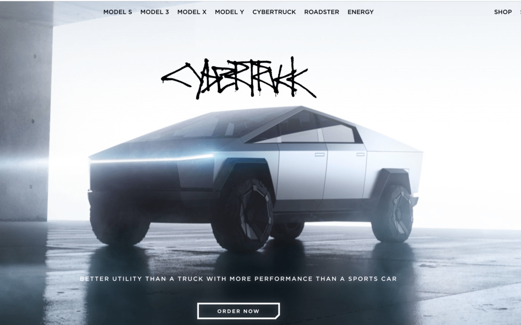 Tesla's Trademarks For Cybertruck and Cybrtrk