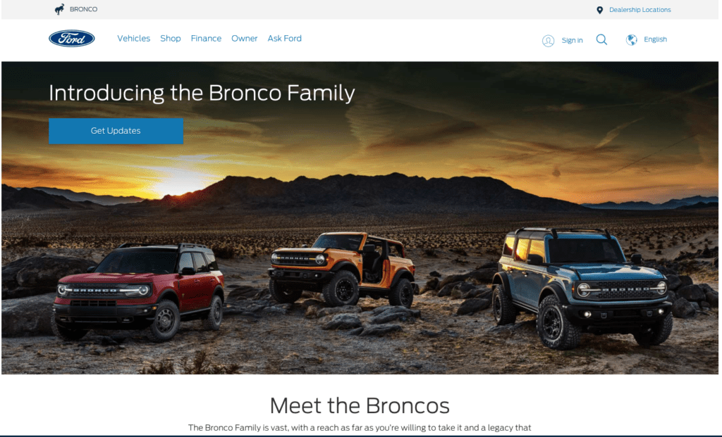 Ford Bronco® trademark abandoned - LA Tech and media law firm, best startup attorney Los Angeles